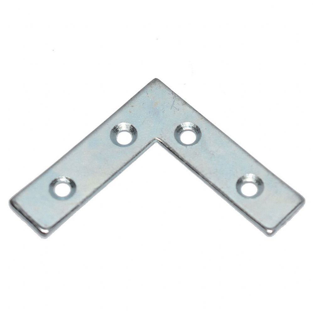 Picture Frame Reinforcement Corner 50mm x 12.5mm Zinc Plated